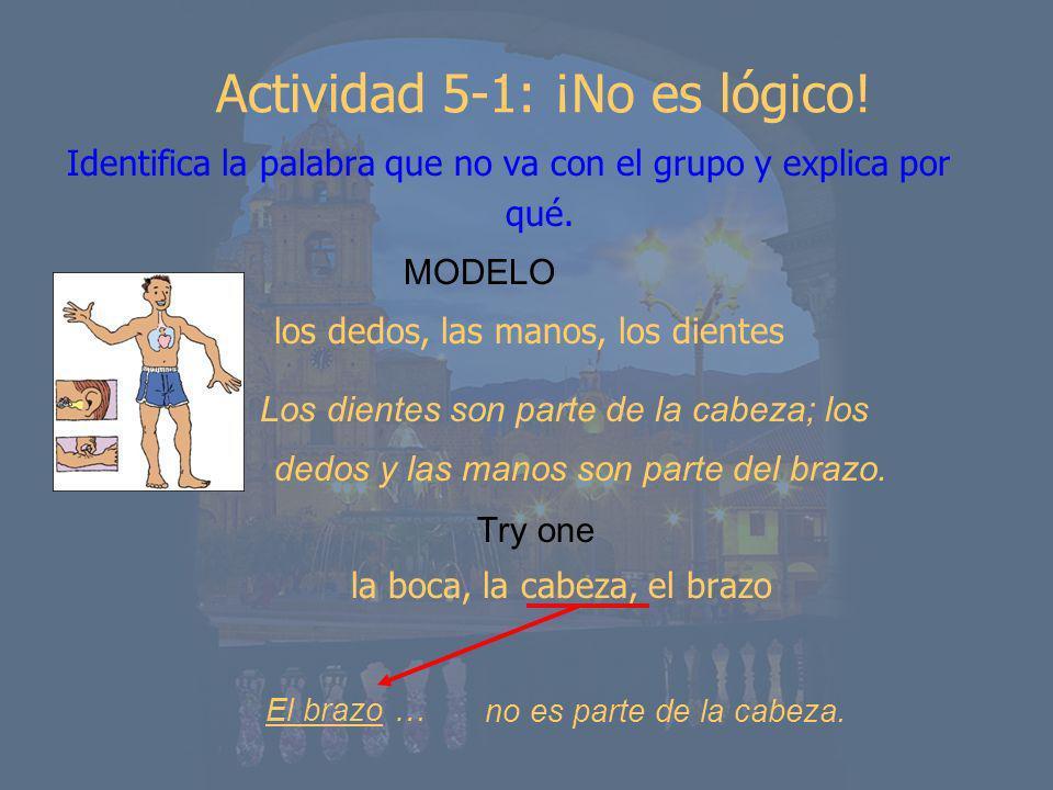 Actividad 5-1: ¡No es lógico!