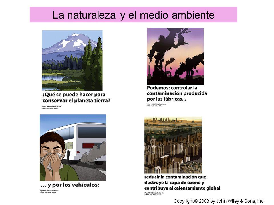 La naturaleza y el medio ambiente