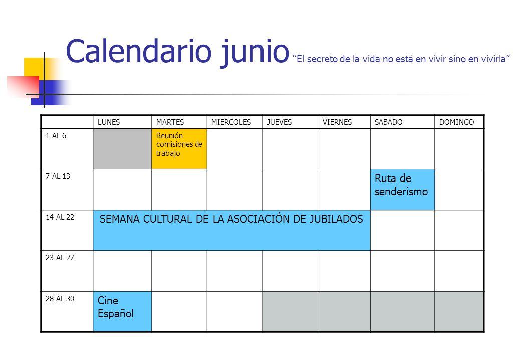 SEMANA CULTURAL DE LA ASOCIACIÓN DE JUBILADOS