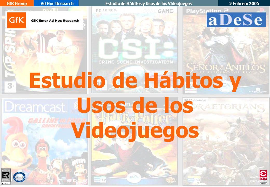 Estudio de Hábitos y Usos de los Videojuegos