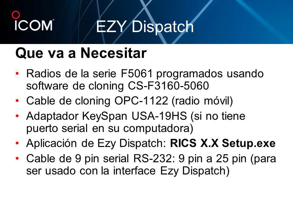 EZY Dispatch Que va a Necesitar