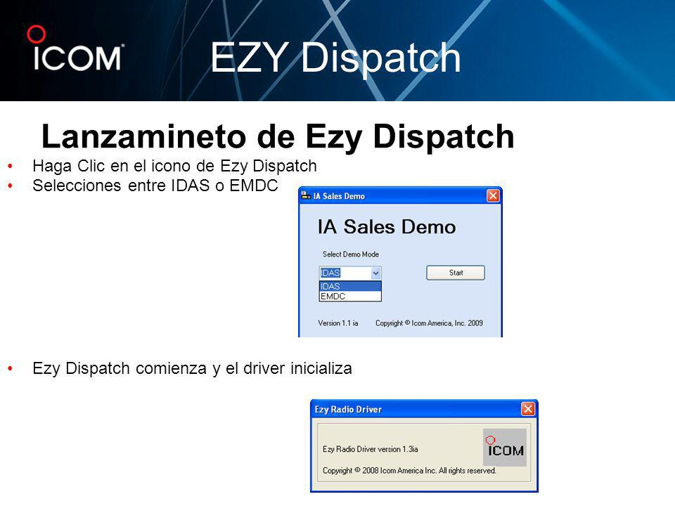 Lanzamineto de Ezy Dispatch