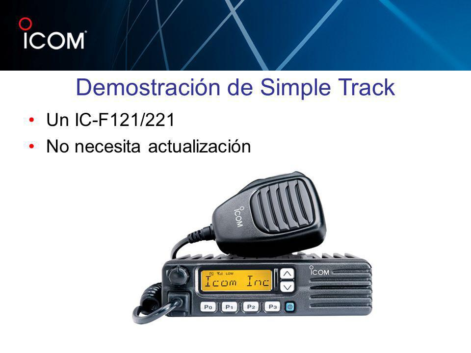 Demostración de Simple Track
