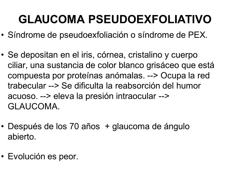 GLAUCOMA PSEUDOEXFOLIATIVO