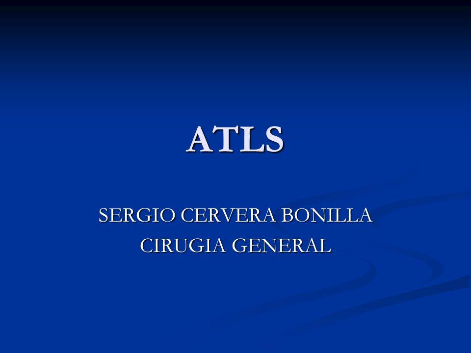 SERGIO CERVERA BONILLA CIRUGIA GENERAL