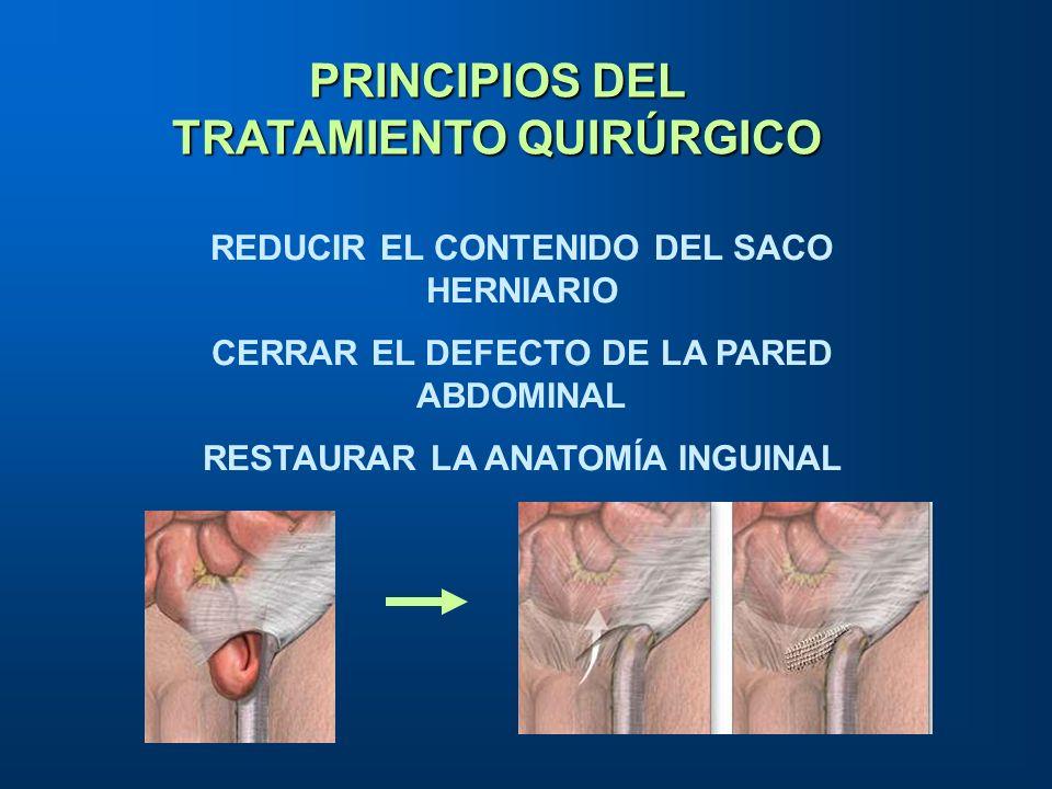 PRINCIPIOS DEL TRATAMIENTO QUIRÚRGICO