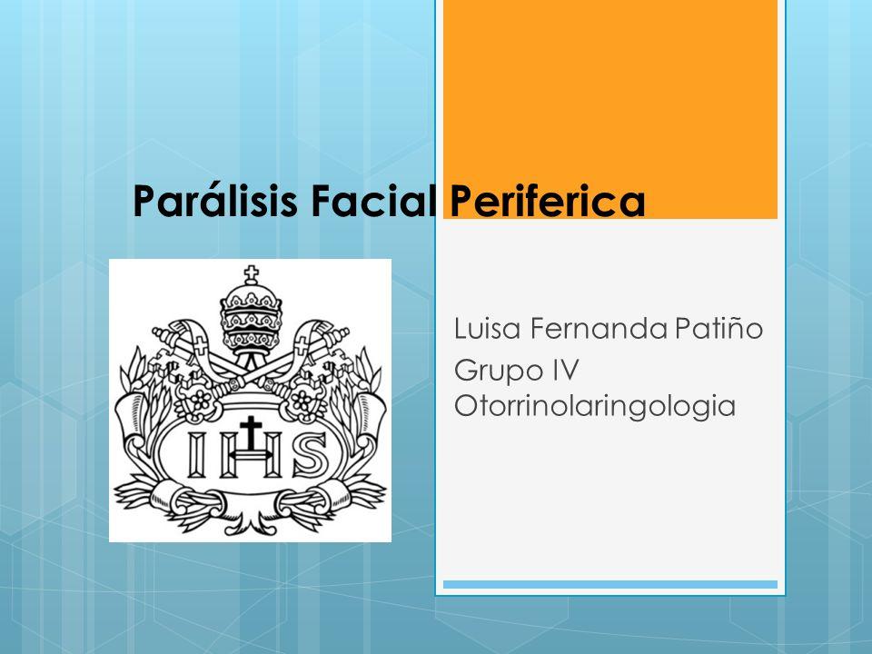 Parálisis Facial Periferica