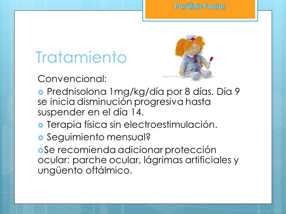 Tratamiento Convencional: