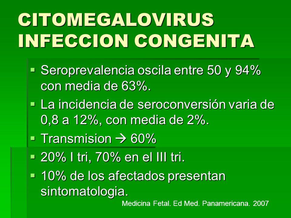 CITOMEGALOVIRUS INFECCION CONGENITA