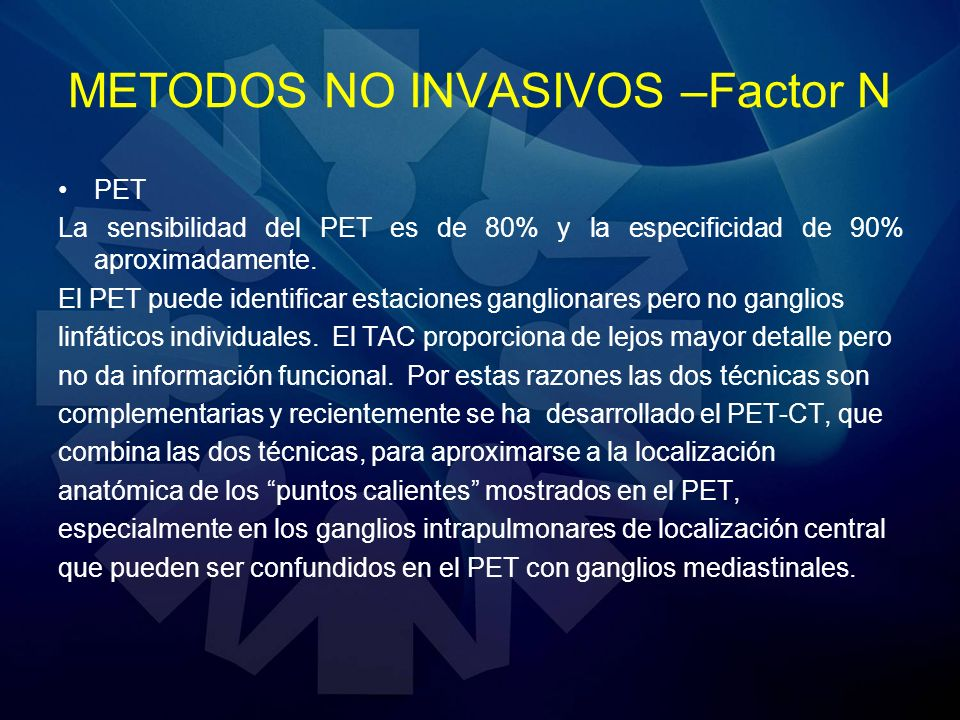 METODOS NO INVASIVOS –Factor N