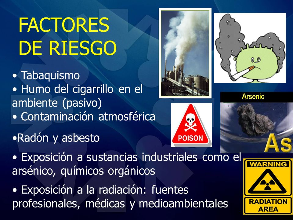 FACTORES DE RIESGO Tabaquismo