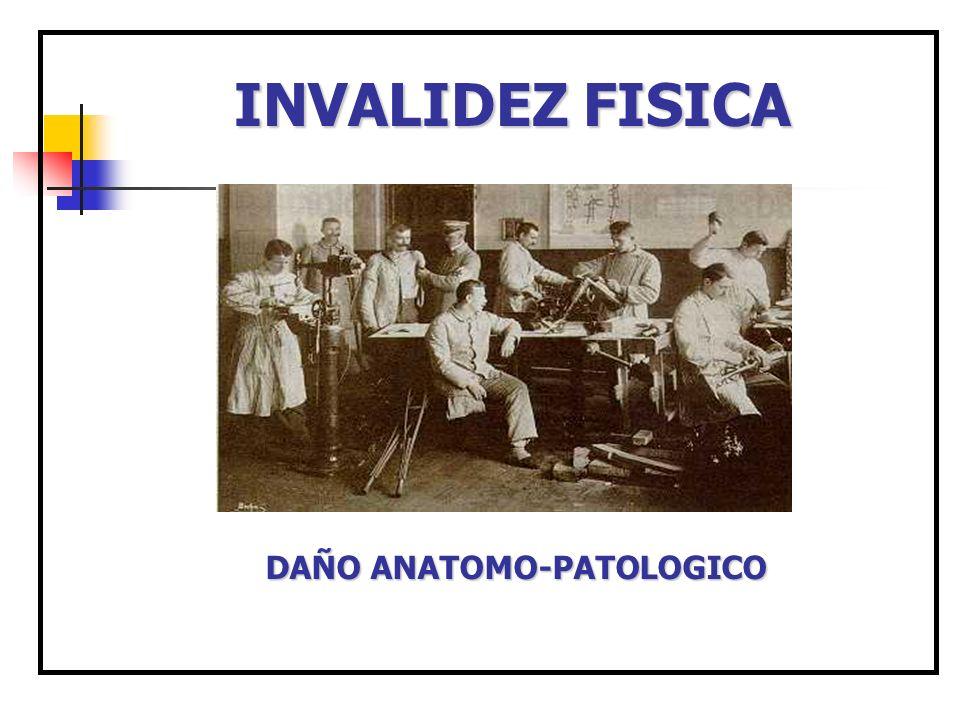 DAÑO ANATOMO-PATOLOGICO