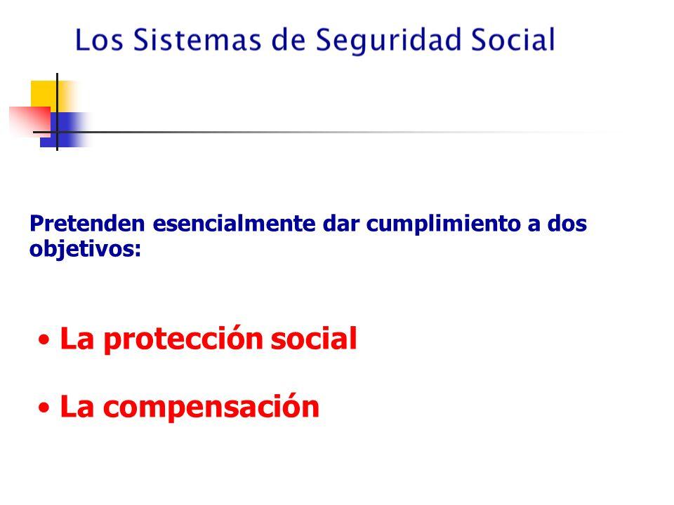 La protección social La compensación