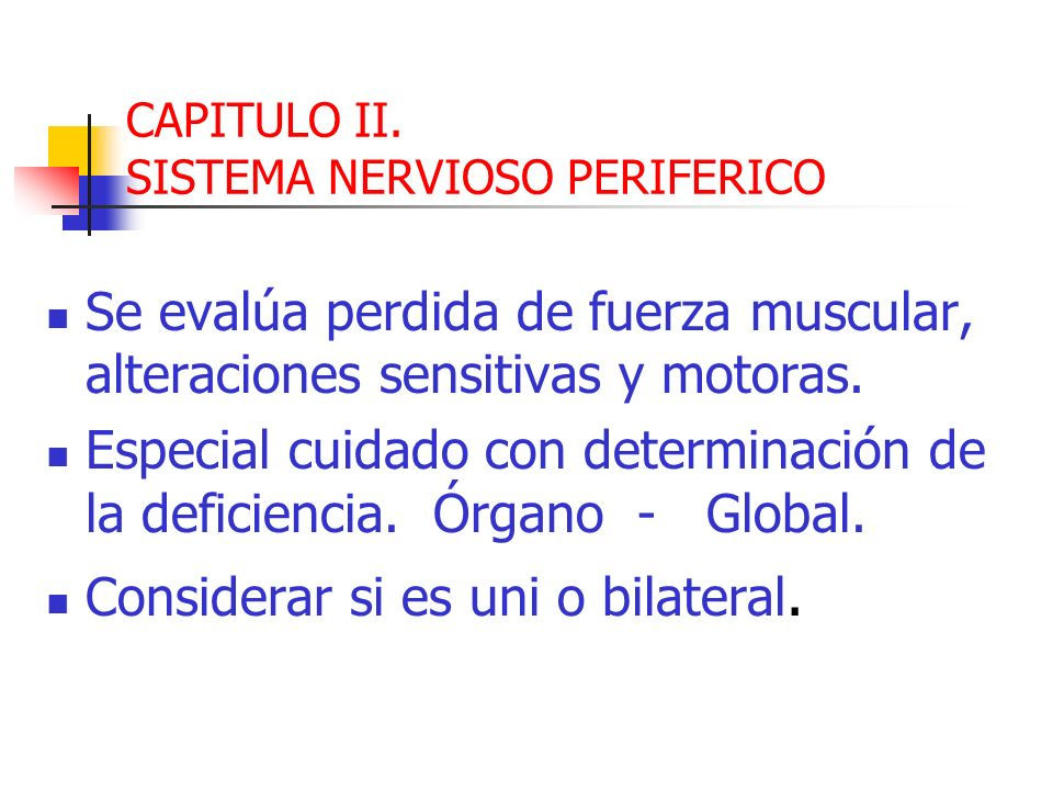 CAPITULO II. SISTEMA NERVIOSO PERIFERICO