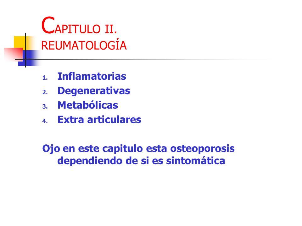 CAPITULO II. REUMATOLOGÍA