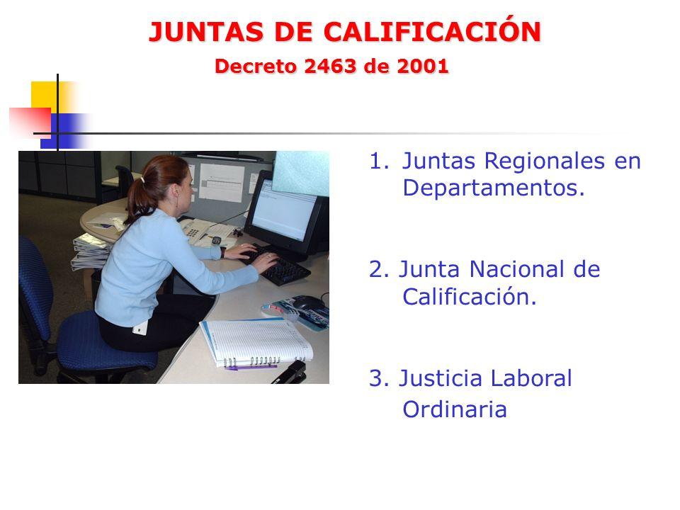 JUNTAS DE CALIFICACIÓN