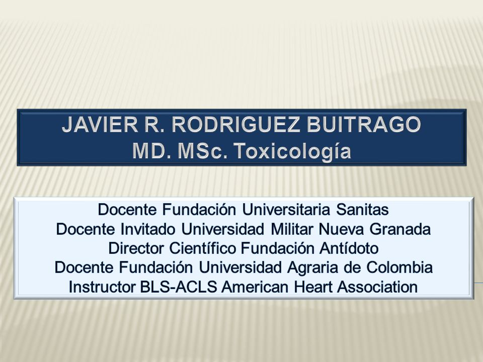 JAVIER R. RODRIGUEZ BUITRAGO
