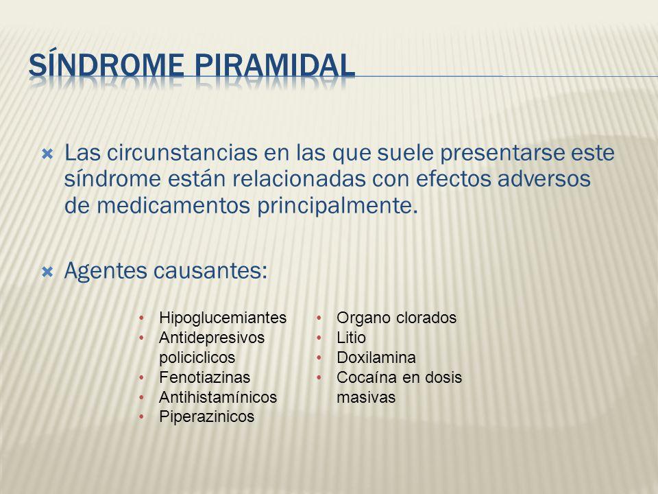 Síndrome Piramidal