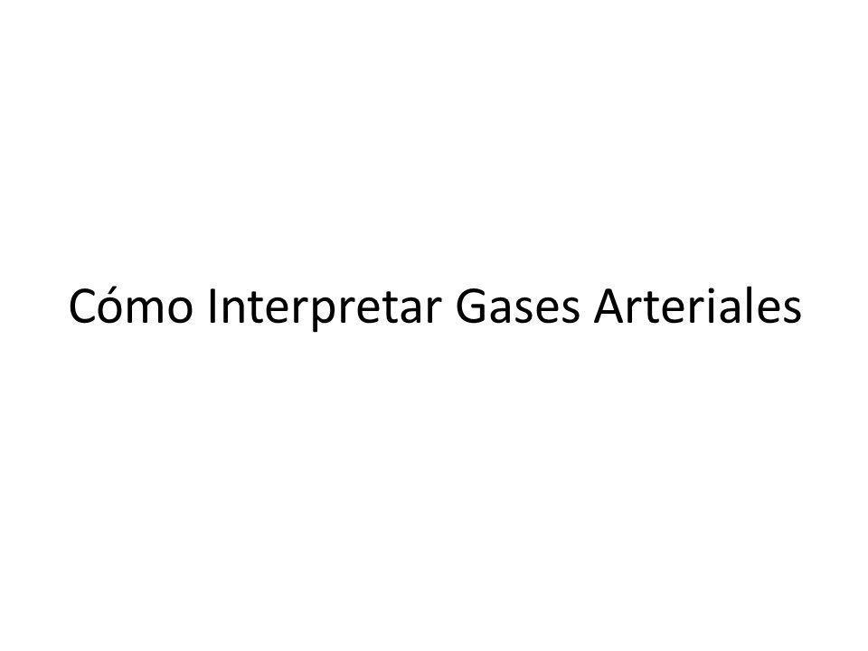 Cómo Interpretar Gases Arteriales