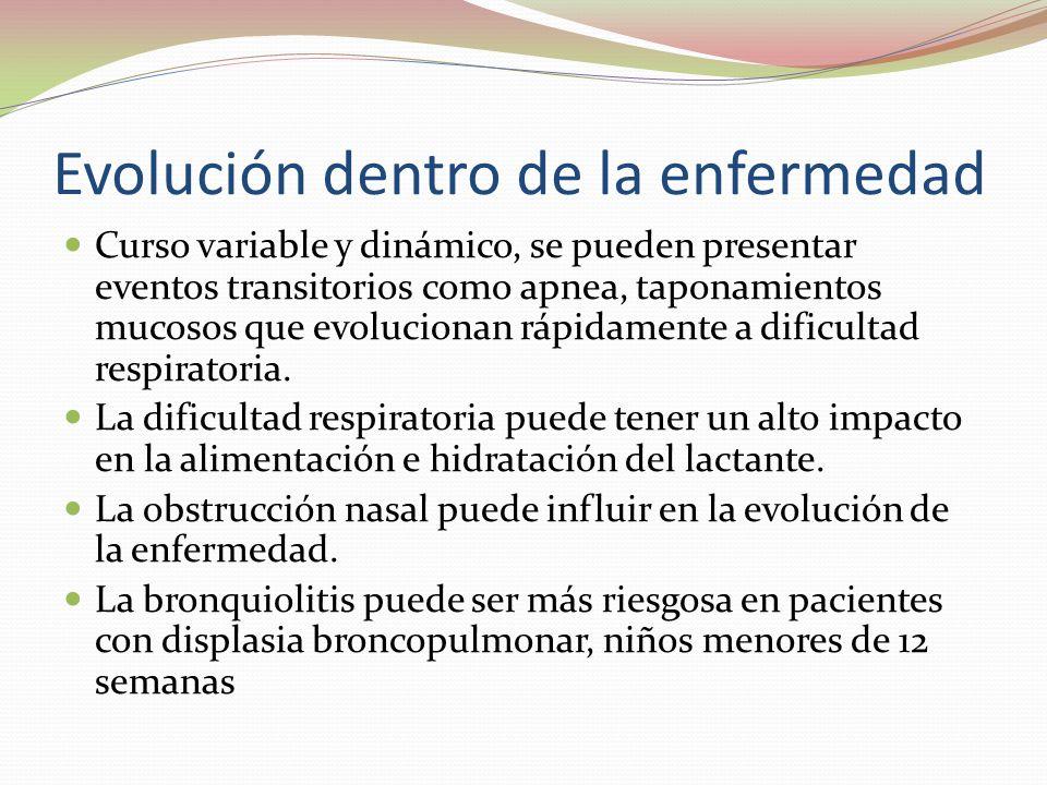 Evolución dentro de la enfermedad