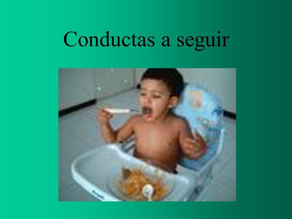 Conductas a seguir