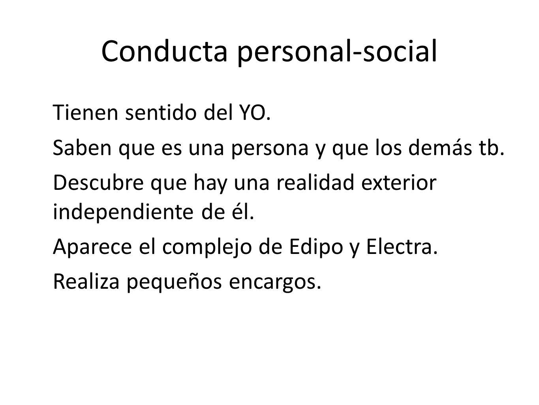 Conducta personal-social
