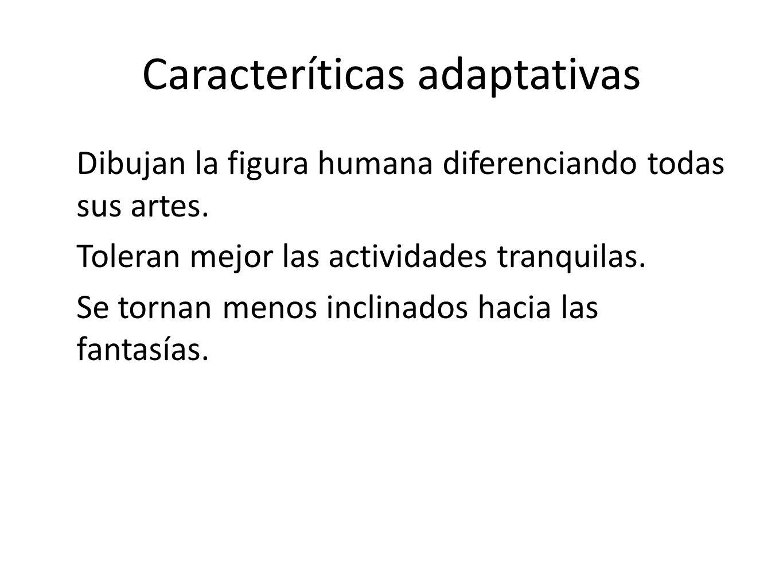 Caracteríticas adaptativas