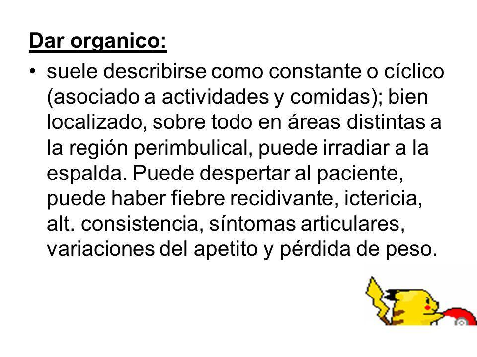 Dar organico: