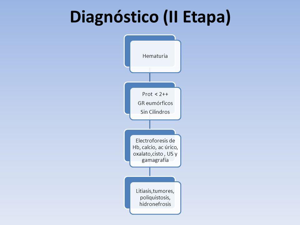Diagnóstico (II Etapa)