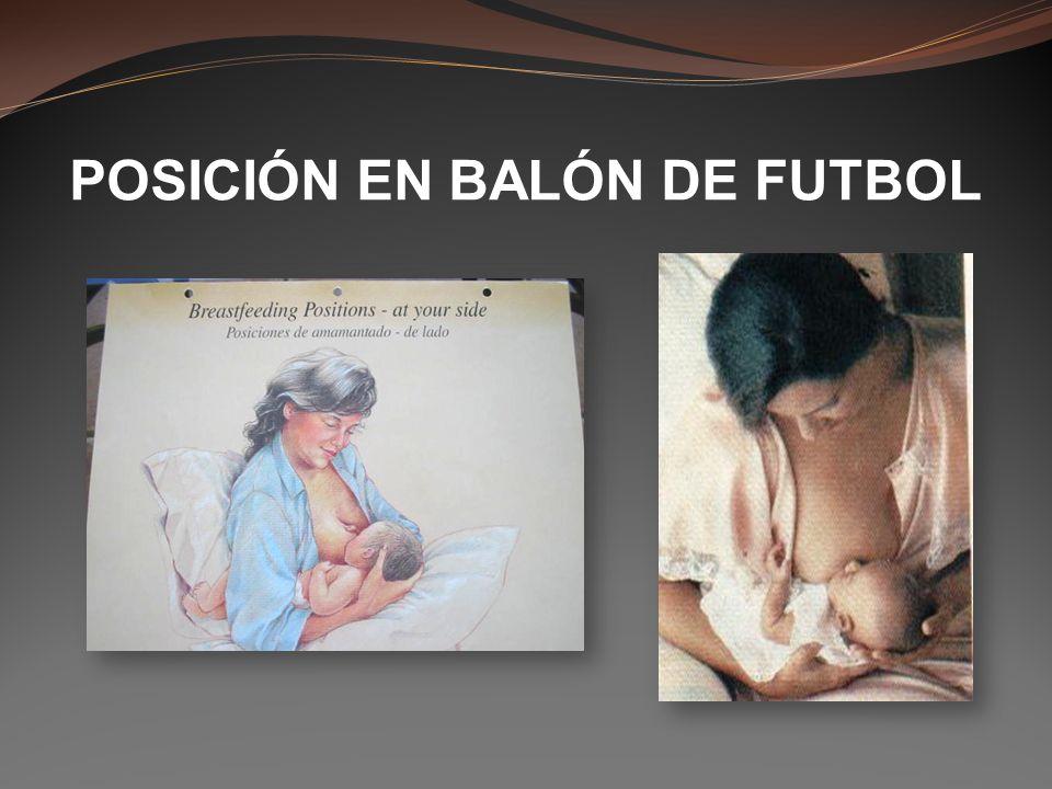 POSICIÓN EN BALÓN DE FUTBOL