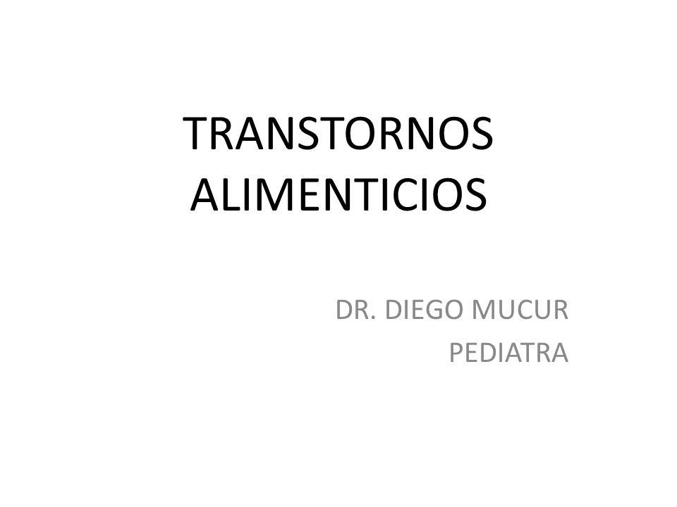 TRANSTORNOS ALIMENTICIOS