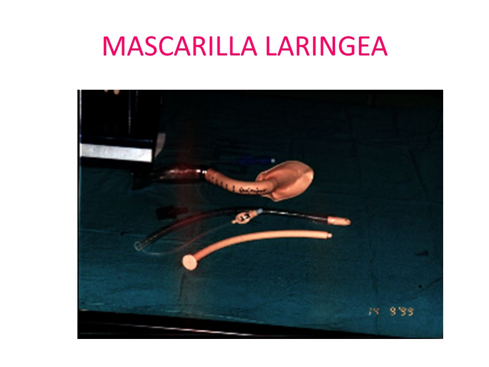 MASCARILLA LARINGEA