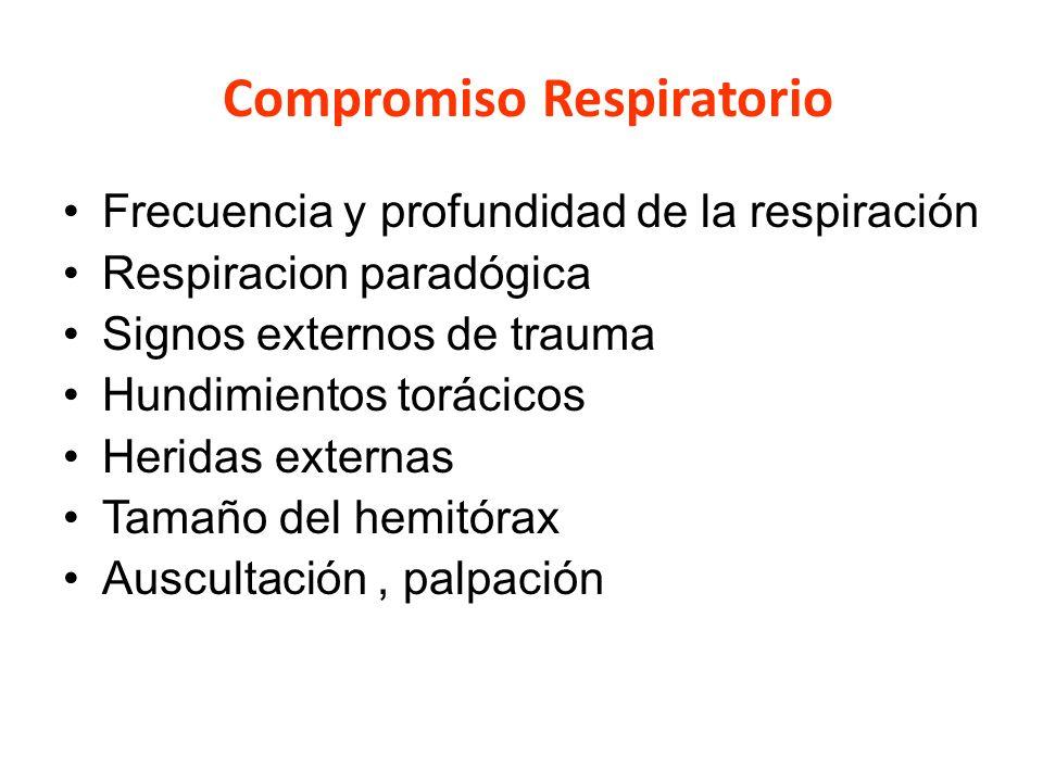 Compromiso Respiratorio