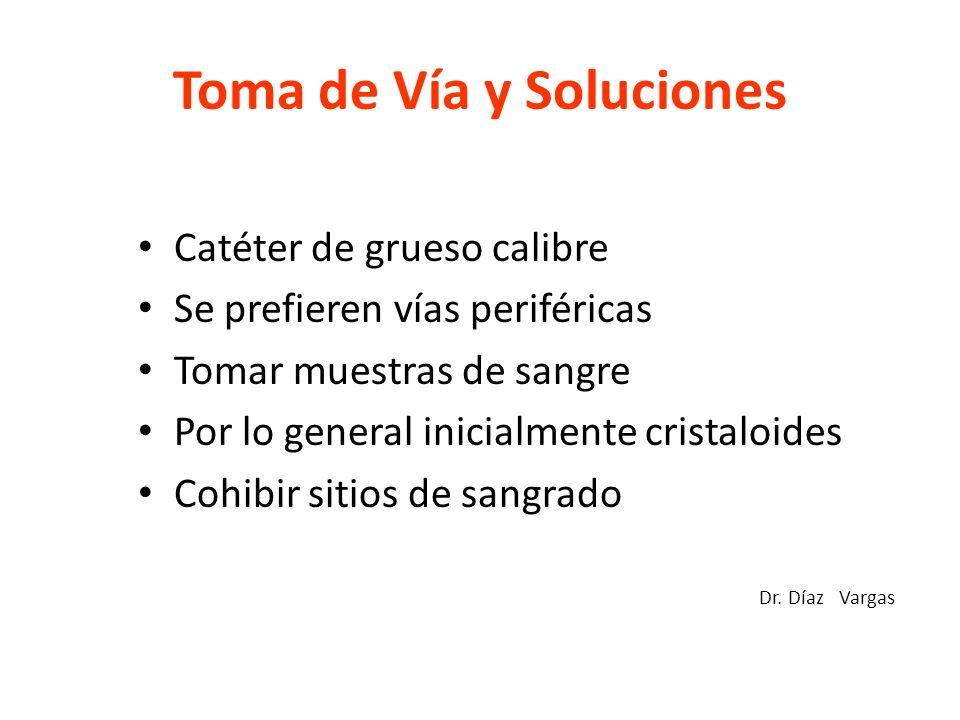 Toma de Vía y Soluciones