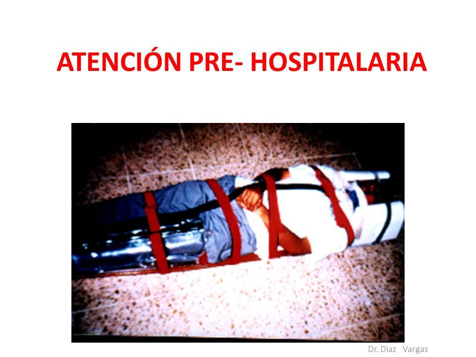 ATENCIÓN PRE- HOSPITALARIA