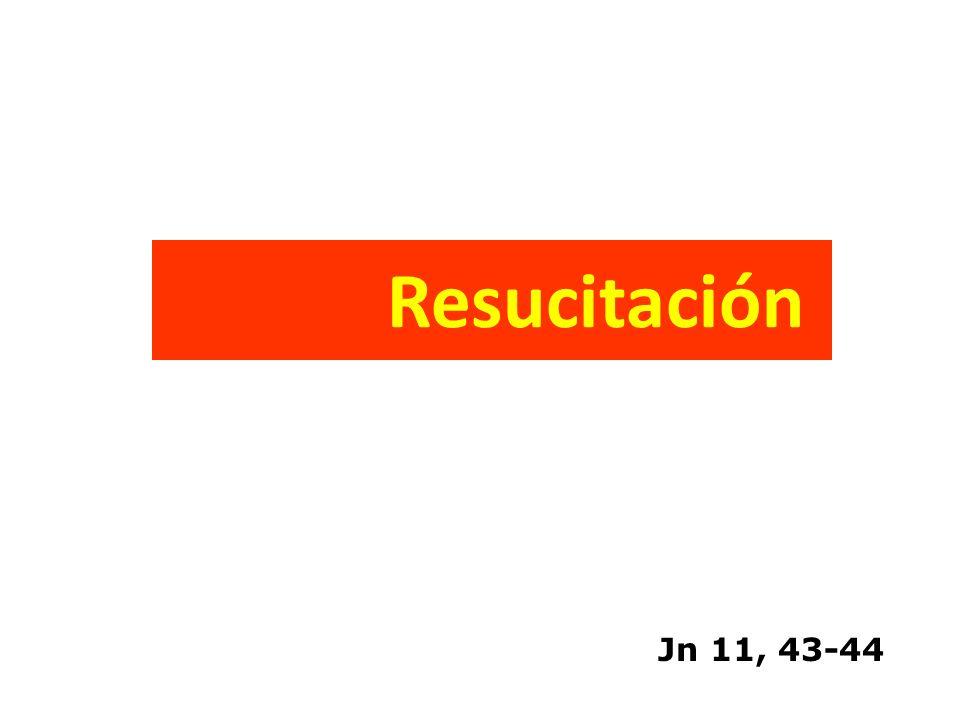 Resucitación Jn 11, 43-44