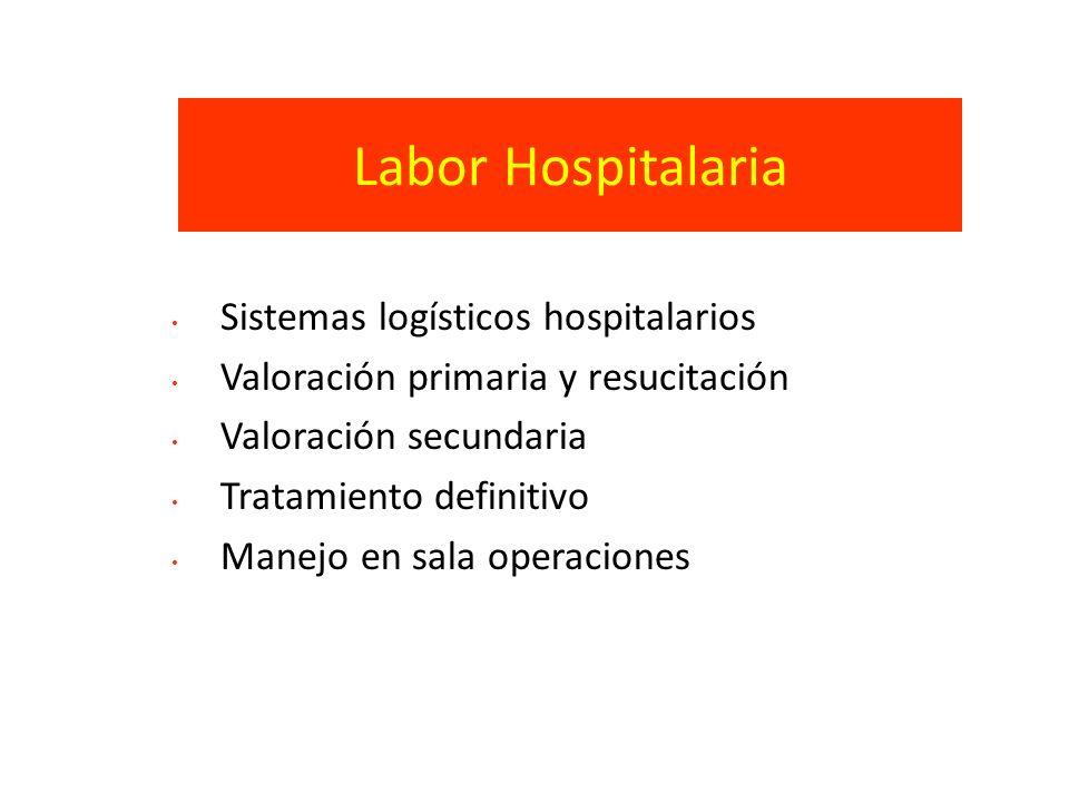 Labor Hospitalaria Sistemas logísticos hospitalarios