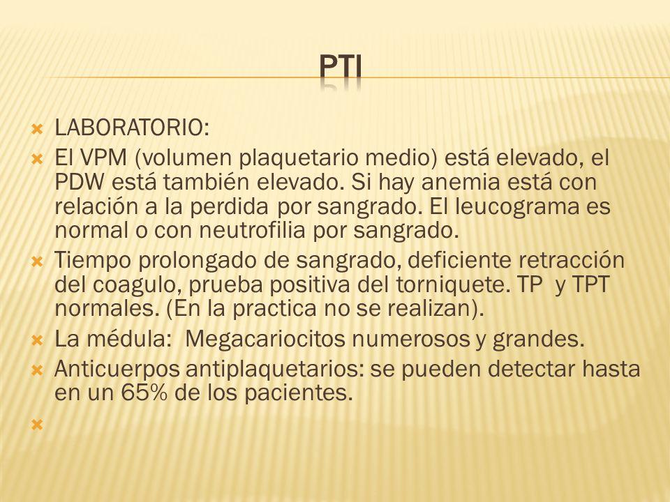 PTI LABORATORIO: