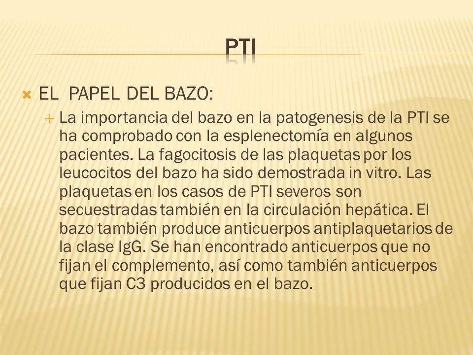 PTI EL PAPEL DEL BAZO: