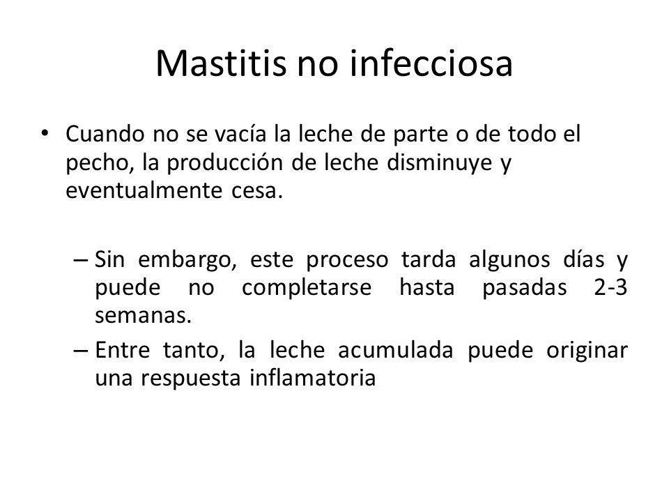 Mastitis no infecciosa