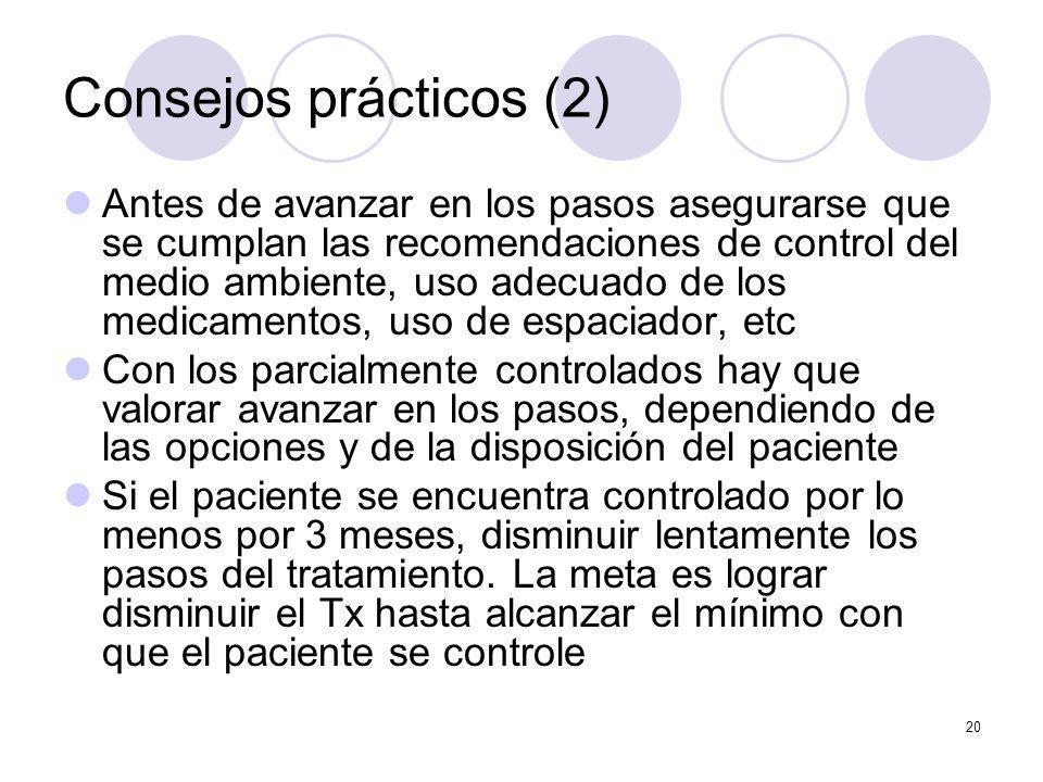 Consejos prácticos (2)