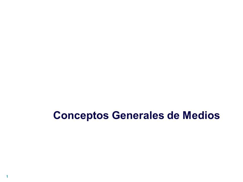 Conceptos Generales de Medios