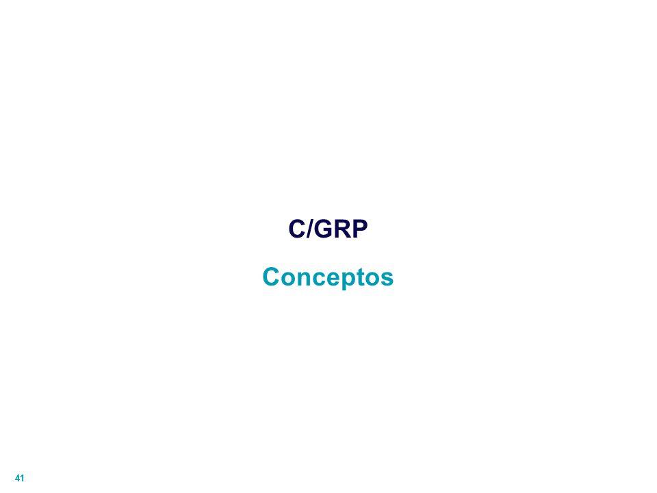C/GRP Conceptos