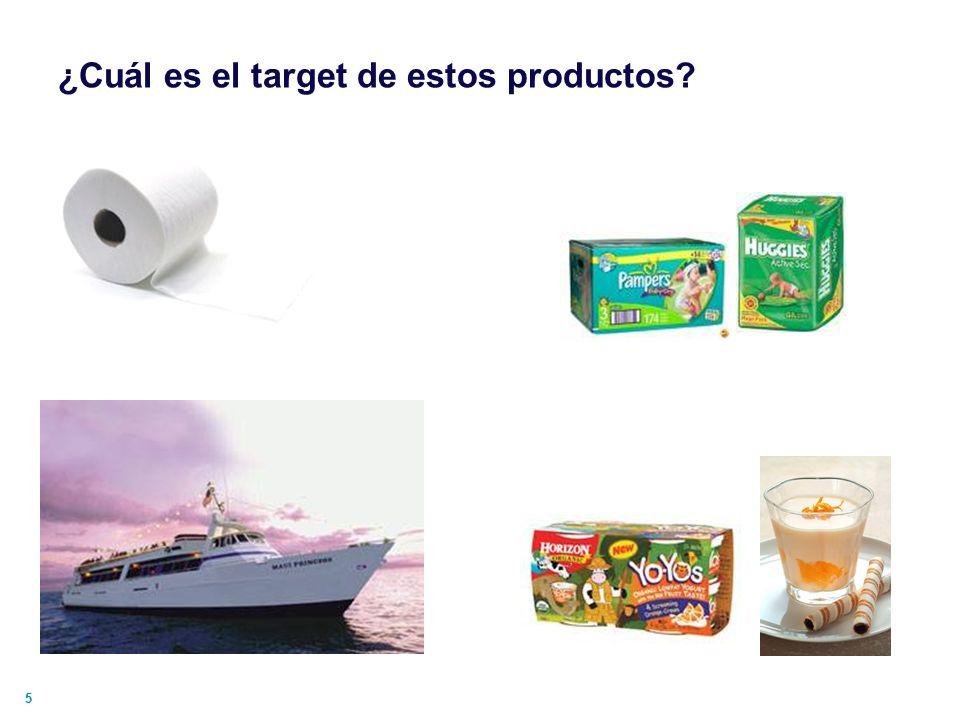 ¿Cuál es el target de estos productos