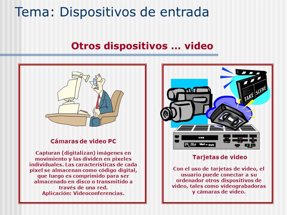 Otros dispositivos … video