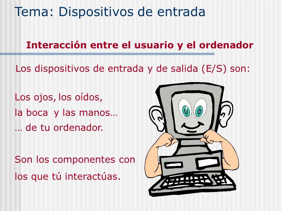 Interacción entre el usuario y el ordenador