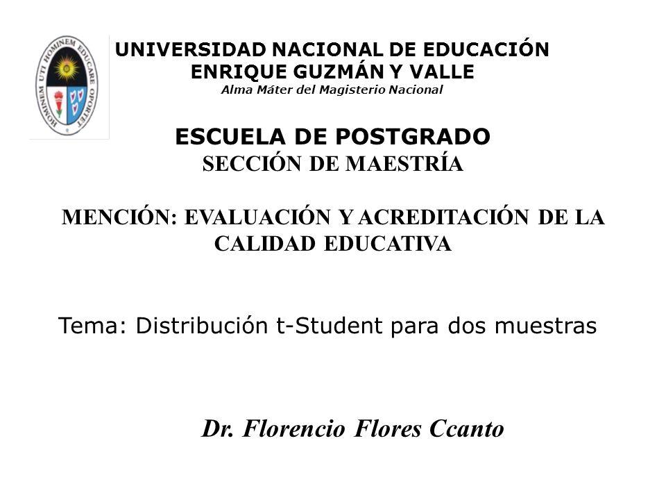 Dr. Florencio Flores Ccanto