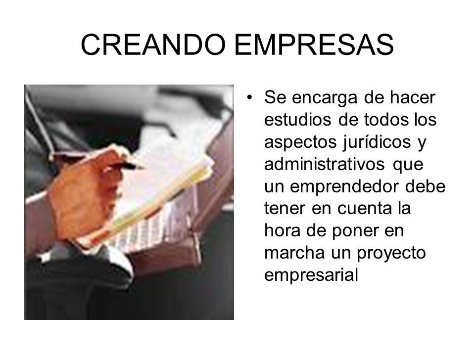 CREANDO EMPRESAS