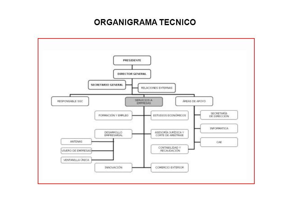 ORGANIGRAMA TECNICO