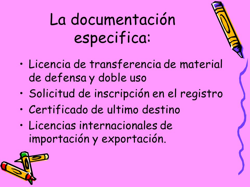 La documentación especifica: